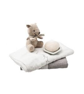 Pack bébé doudou et serviette